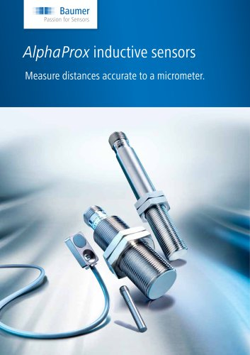 AlphaProx inductive sensors