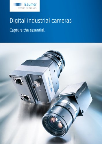 Digital industrial cameras