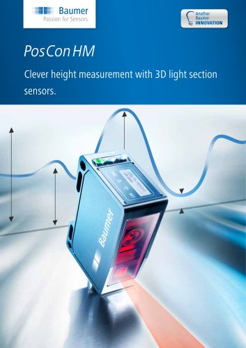 PosConHM - Clever height measurement with 3D light section sensors.