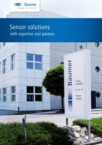 Sensor Solution with expertise and passion