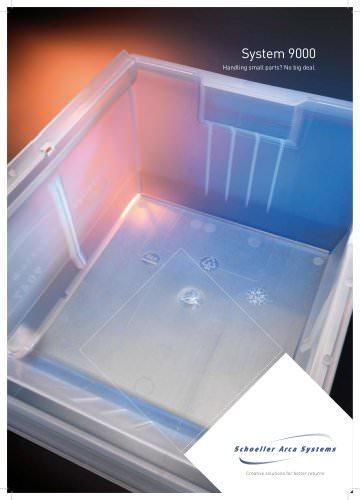 Storage bins - System 9000