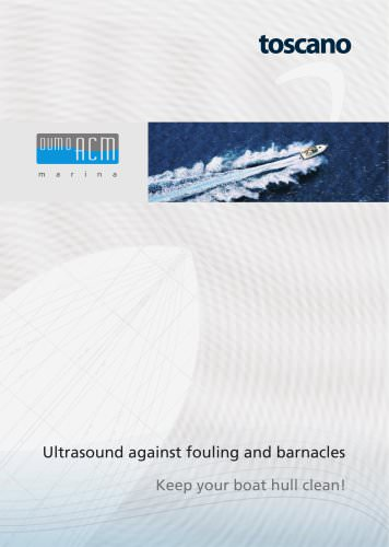 DUMO ACM: Ultrasound against fouling and barnacles