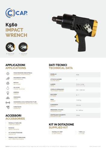 K560 IMPACT WRENCH