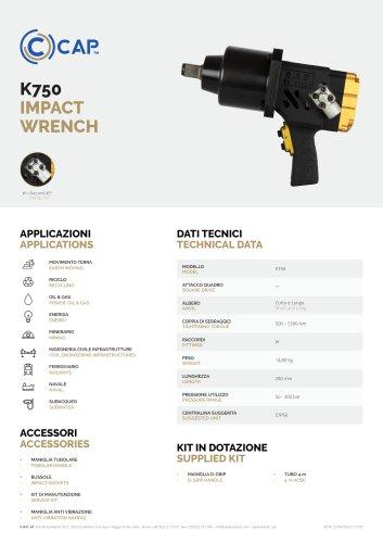 K750 IMPACT WRENCH
