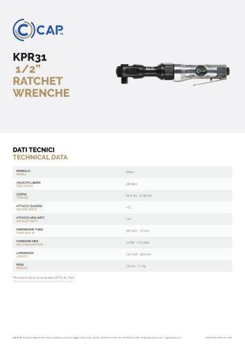 "KPR31  1/2"" RATCHET WRENCHE"