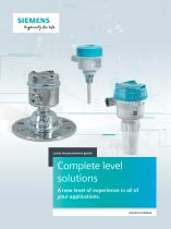 Level measurement guide: complete level solutions