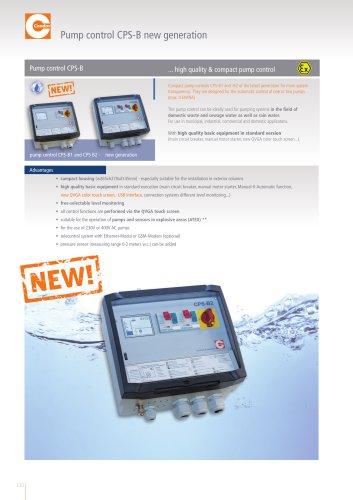 CONDOR - Pump Control CPS-B - New Generation
