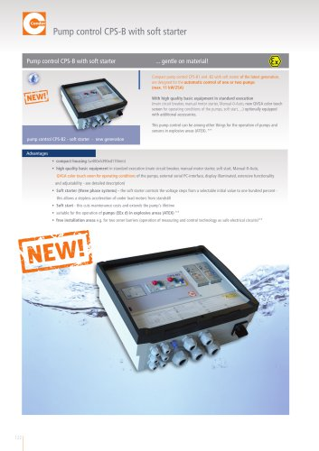 Pump Control CPS-B With Soft Start - New Generation