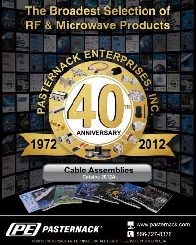Catalog 2012A - Cable Assemblies
