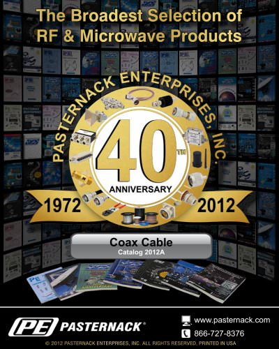 Catalog 2012A - Coaxial Cable