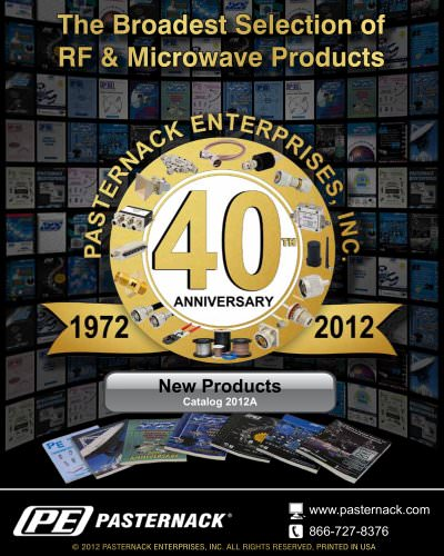 Catalog 2012A - New Products