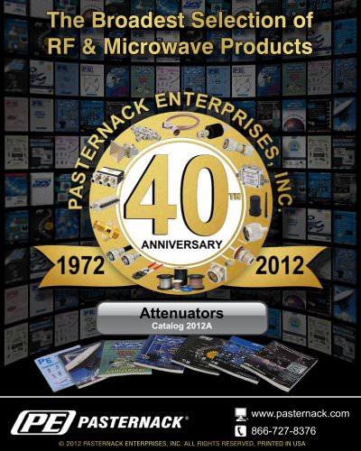 Catalog 2012A - RF Attenuators