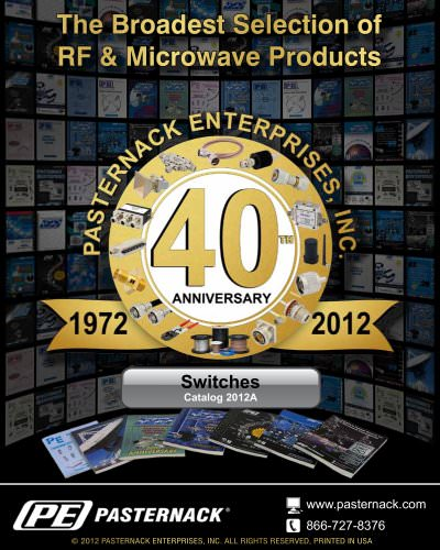 Catalog 2012A - RF Switches