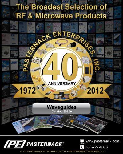 Catalog 2012A - RF Waveguides