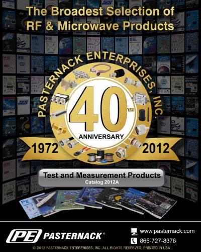 Catalog 2012A - Test & Measurement