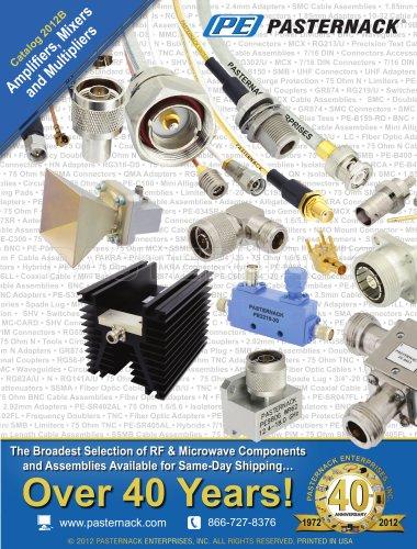 Catalog 2012B - Amplifiers, Mixers & Multipliers