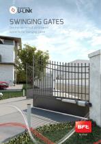 Electromechanical automation systems for swinging gates