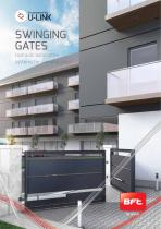Hydraulic automation systems for swinging gates