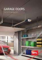 Operator for garage doors