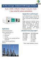 Ruiyi Gasboard-3100 Syngas Analyser