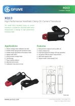 XQ13 100A HIGH PERFORMANCE AC MICRO AMP CLAMP ON CURRENT PROBE