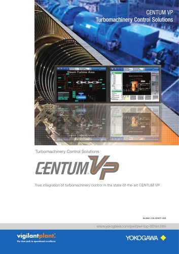 CENTUM VP Turbomachinery Control Solutions