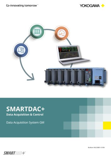 SMARTDAC+ Data Acquisition & Control Data Acquisition System GM