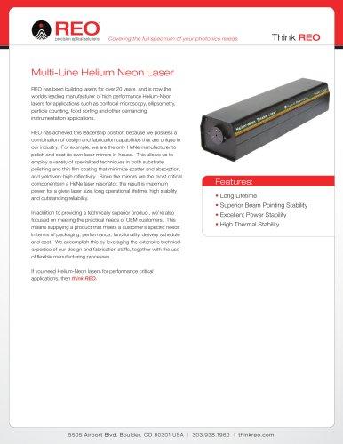Multi-Line Helium Neon