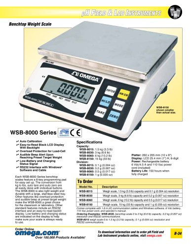 Benchtop Weight Scale