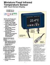 Miniature Fixed Infrared Temperature Sensor