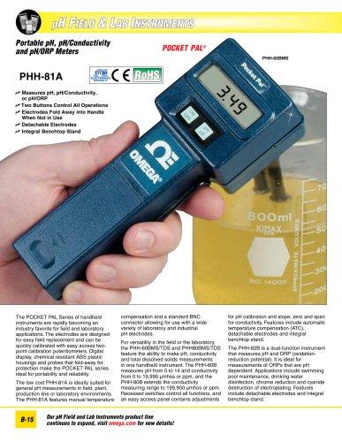 PHH60 and PHH80 POCKET PAL® Series