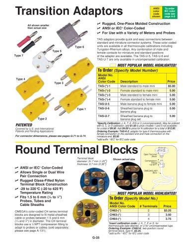 Round Terminal Blocks