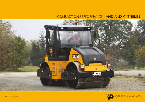 COMPACTION PERFORMANCE | VMD and VMT SERIES