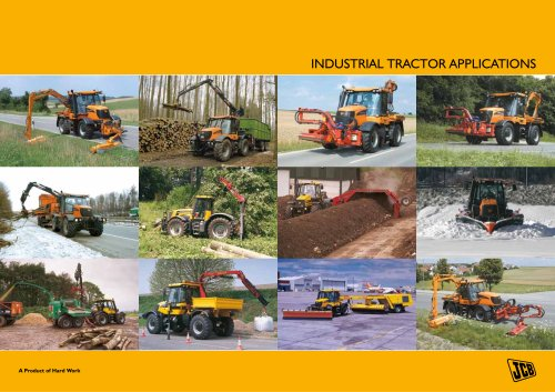 INDUSTRIAL TRACTOR APPLICATIONS