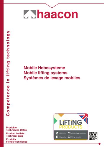 Mobile lifting systems