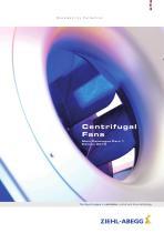 Centrifugal fans Main Catalogue Part 1