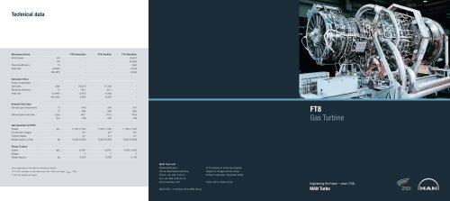 FT8 Gas Turbine