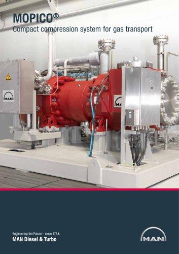 MOPICO - Gas pipeline compression system
