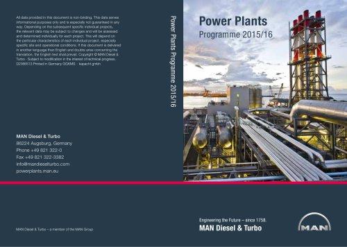 Power Plants Programme 2015