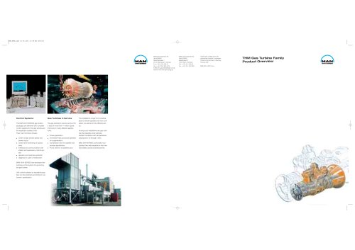 THM Gas Turbine Family Product Overview