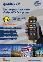 Product information quadrix Ex