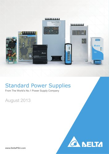 Delta Industrial Power Supplies Rev.Aug.2013