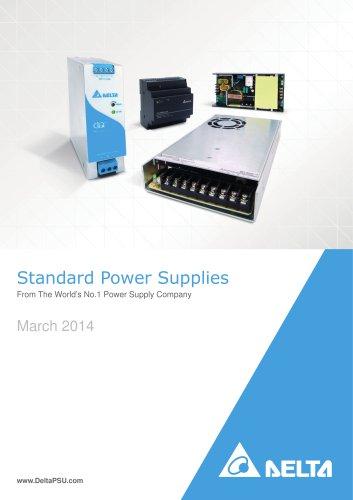 Delta Standard Power Supplies Catalog Mar-2014