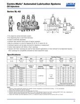 Centro-Matic® Automated Lubrication Systems Oil Injectors