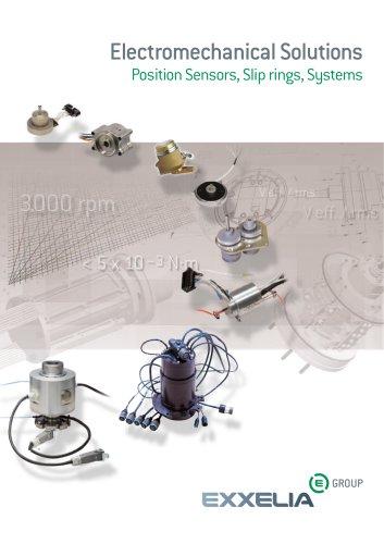Position Sensors & Slip Rings Catalog
