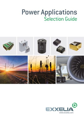 Power Applications Selection Guide