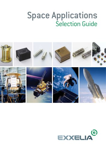 Space Applications Selection Guide