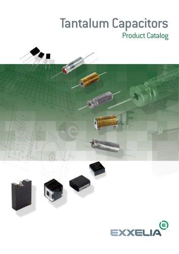 Tantalum Capacitors Product Catalog