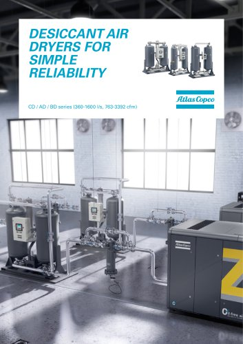 DESICCANT AIR DRYERS FOR SIMPLE RELIABILITY