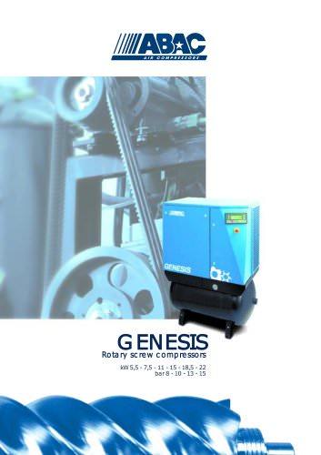 GENESIS Rotary screw compressors